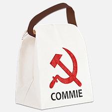 Vintage Commie Canvas Lunch Bag