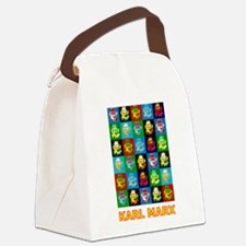 Pop Art Karl Marx Canvas Lunch Bag