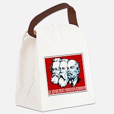 Marx, Engels, Lenin Canvas Lunch Bag