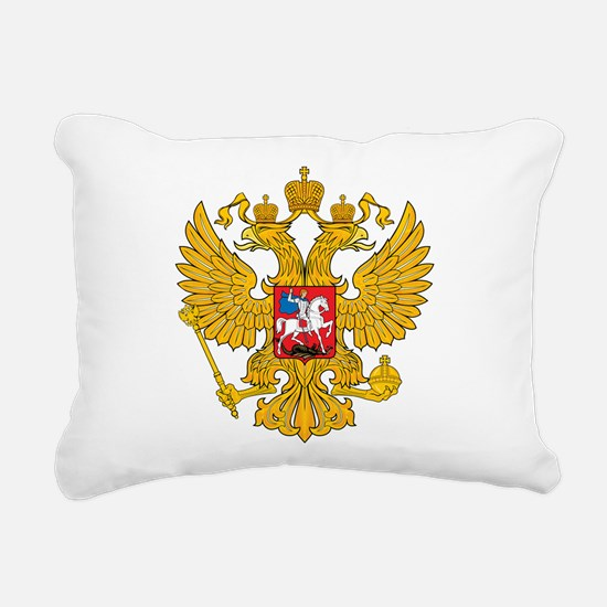Russia Coat Of Arms Rectangular Canvas Pillow