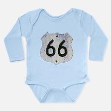 ROUTE 66 XXX™ Long Sleeve Infant Bodysuit