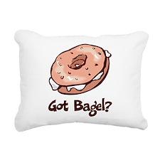 Got Bagel Rectangular Canvas Pillow