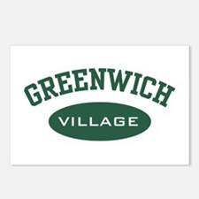 Greenwich Village Postcards (Package of 8)