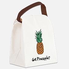 Got Pineapple? Canvas Lunch Bag