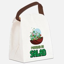 Powered By Salad Canvas Lunch Bag