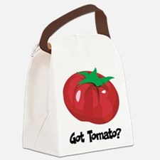 Got Tomato Canvas Lunch Bag