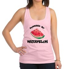 Powered By Watermelon Racerback Tank Top