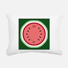 Cute Watermelon Rectangular Canvas Pillow
