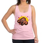 happy-dachshund.png Racerback Tank Top