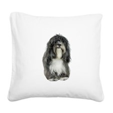 FIN-tibetan-terrier.png Square Canvas Pillow