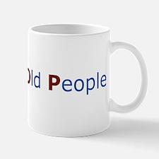 Goodluck Old People Mug