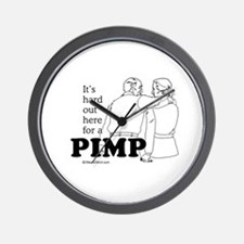 It's hard out here for a pimp -  Wall Clock