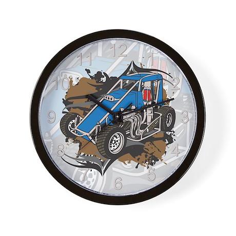 Midget Racing Wall Clock