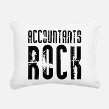 Accountants Rock Rectangular Canvas Pillow