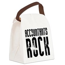 Accountants Rock Canvas Lunch Bag