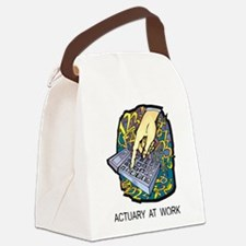 Actuary At Work Canvas Lunch Bag