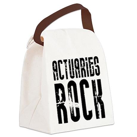 Actuaries Rock Canvas Lunch Bag
