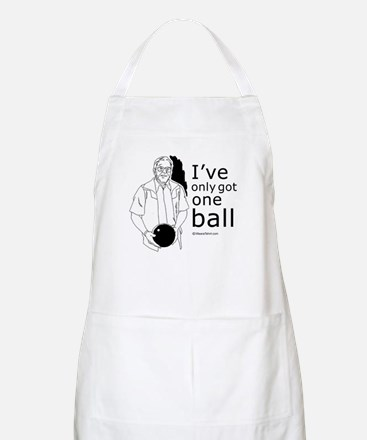 I've only got one ball ~  BBQ Apron