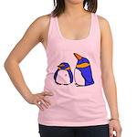 cartoon-penguins.png Racerback Tank Top