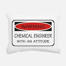 Attitude Chemical Engineer Rectangular Canvas Pill