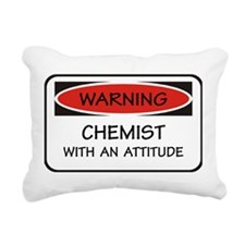 Attitude Chemist Rectangular Canvas Pillow