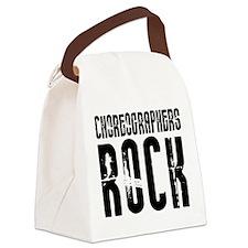 Choreographers Rock Canvas Lunch Bag