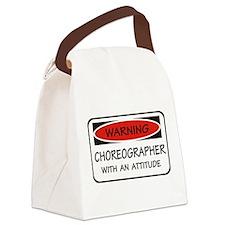 Attitude Choreographer Canvas Lunch Bag