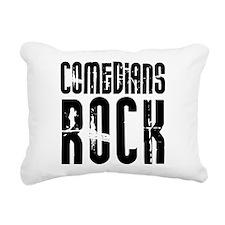 Comedians Rock Rectangular Canvas Pillow