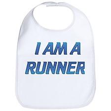 I AM A RUNNER Bib