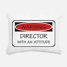 Attitude Director Rectangular Canvas Pillow