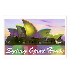 Sydney Opera House Lights Postcards (Package of 8)