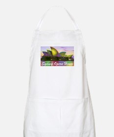 Sydney Opera House Lights BBQ Apron