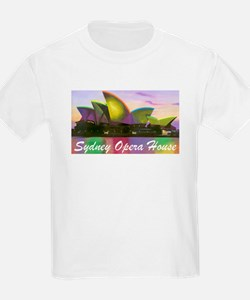 Sydney Opera House Lights Kids T-Shirt
