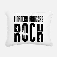 Financial Advisors Rock Rectangular Canvas Pillow