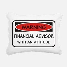 Attitude Financial Advisor Rectangular Canvas Pill