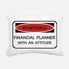 Attitude Financial Planner Rectangular Canvas Pill