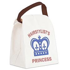 Hairstylist Princess Canvas Lunch Bag