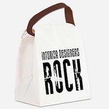 Interior Designers Rock Canvas Lunch Bag