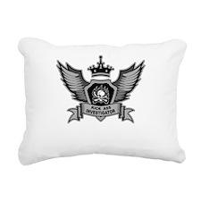 Kick Ass Investigator Rectangular Canvas Pillow