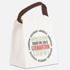 Trust Librarian Canvas Lunch Bag