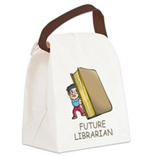 Future Librarian Canvas Lunch Bag