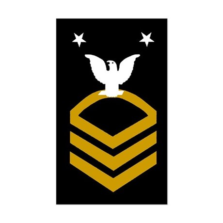 Master Chief Petty Officer<BR> Sticker 1