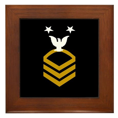 Master Chief Petty Officer<BR> Framed Tile 1