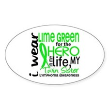 Hero in Life 2 Lymphoma Decal