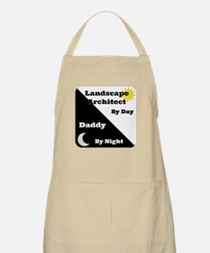 Landscape Architect by day Daddy by night Apron