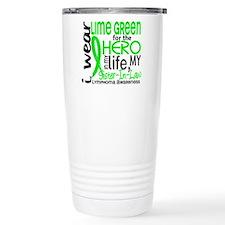 Hero in Life 2 Lymphoma Travel Mug