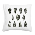FIN-shell-pillow.png Square Canvas Pillow