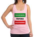paprika-hungary.tif Racerback Tank Top