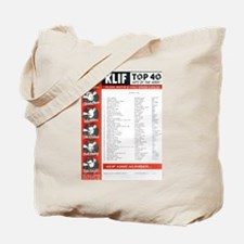 KLIF Playlist (1964) Tote Bag