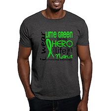 Hero in Life 2 Lymphoma T-Shirt